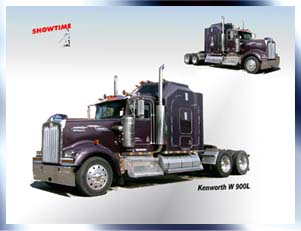 US Showtruck Kenworth W 900 B